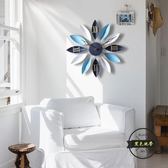 地中海北歐式客廳創意時尚藝術兒童靜音臥室時鐘家用掛錶大掛鐘錶—聖誕交換禮物
