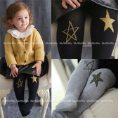 寶寶褲襪 小星星童襪 嬰兒襪 褲襪CA2832 好娃娃