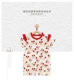 0-6個月新生兒衣服1歲寶寶外出服夏季連體衣