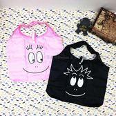 【KP】泡泡先生 購物袋 BARBAPAPA 收納袋 輕巧 攜帶 可摺疊收納 正版授權 DTT0522403