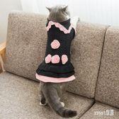 寵物衣服 貓咪衣服寵物衣服秋裝兩腳衣布偶英短加菲貓冬季毛衣用品秋冬裝 LN7360 【Sweet家居】