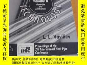 二手書博民逛書店heat罕見pipe technology 【vol I fun