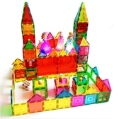彩窗磁力片積木散片 兒童磁性拼搭益智玩具1-2-3-6-8-10周歲【免運】