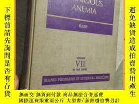 二手書博民逛書店英文書罕見pernicious anemia 惡性貧血Y16354 請見圖片 請見圖片
