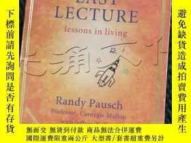 二手書博民逛書店The罕見Last Lecture: Lessons in Li