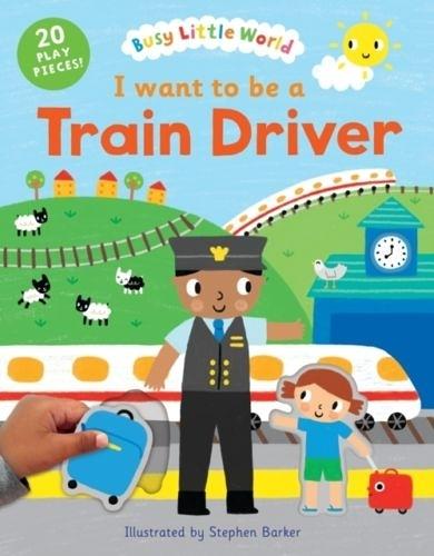 I Want To Be A Train Driver 我想要當火車駕駛 硬頁活動書