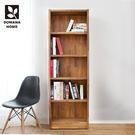 多瓦娜 Richard日式工業-集成2尺書架 111-02-BK 展示櫃 收納櫃 書架