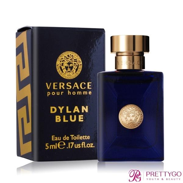 Versace Pour Homme Dylan Blue 狄倫正藍男性淡香水(5ml) EDT-國際航空版【美麗購】