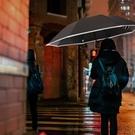 反向雨傘 雨傘大號手動反向傘男超大防曬遮陽折疊晴雨兩用黑膠傘學生反光傘 維多原創