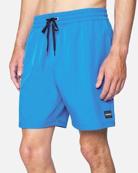 "HURLEY 男 OAO SOLID VOLLEY 17"" 海灘褲"