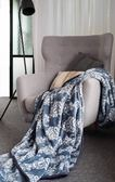 ★漢神週年慶同步販售★【BBL Premium】莫斯-印花暖纖雙人法蘭絨毯