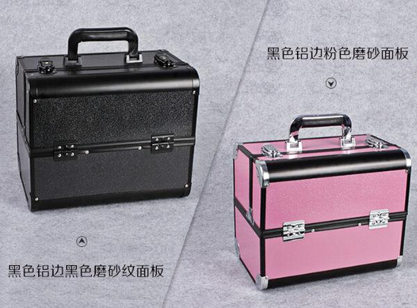 化妝箱大容量美甲紋繡跟妝收納箱多層中號【藍星居家】