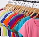 88柑仔店---新款夏裝棉質外貿大碼打底衫19色圓領短袖女t恤 (A0729)