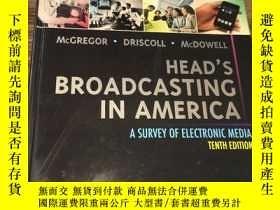 二手書博民逛書店Head s罕見Broadcasting in America: