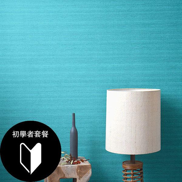 藍色 素色 rasch(德國壁紙) 2020 /  528893+施工道具套餐