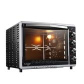 CRTF52W 烤箱家用烘焙多功能52升大容量全自動蛋糕電烤箱 每日特惠NMS