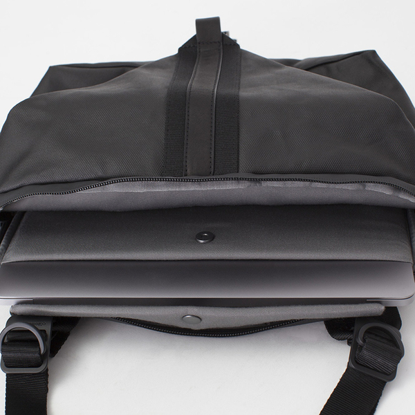 【cote&ciel】YAKIMA COATED CANVAS BLACK No.28764 機能兩用斜肩包