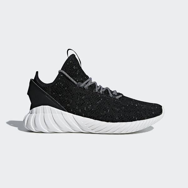 Adidas Tubular Doom Sock PK [CQ0940] 男鞋 運動 休閒 針織 緩震 輕量 愛迪達 黑