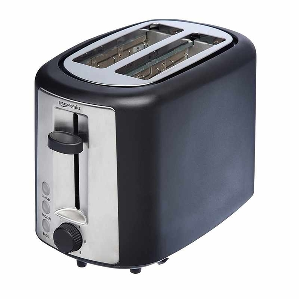 Amazon Basics 2 Slice 烤麵包機 KT-3680 Extra-Wide Slot Toaster with 6 Shade Settings [2美國直購]