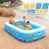 泡澡桶 嬰兒童游泳池充氣加厚家庭游泳池小孩游泳池 海洋球池成人泳池 晴川生活館 NMS