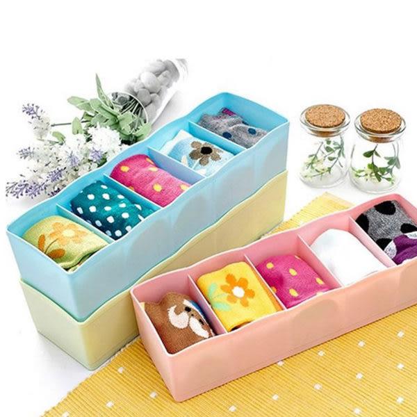 收納盒   多功能5格內衣褲襪收納盒 小物收納 桌面收納 文具收納 辦公室收納 【PMG026】-收納女王