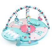 全館85折雨果嬰兒腳踏鋼琴健身架器0-3個月益智新生寶寶遙控玩具0-1歲男孩