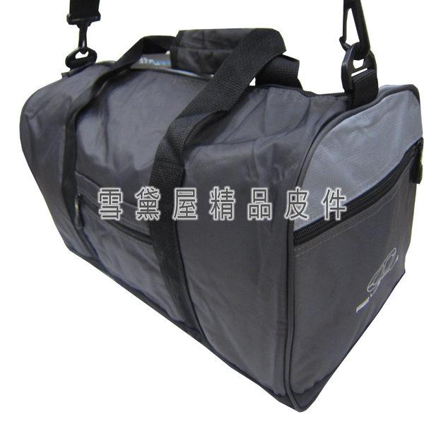 ~雪黛屋~TaTi旅行袋小容量通過30kg重力測試防水尼龍布材質可手提肩背斜側背附活動長背帶AI039