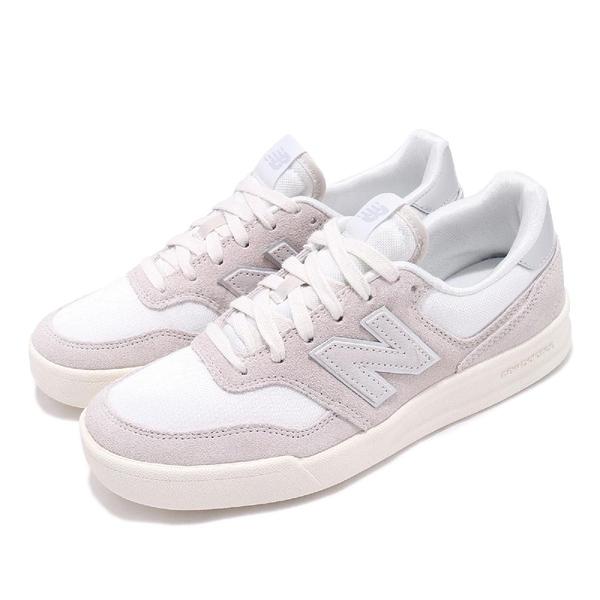 New Balance 休閒鞋 300 NB 米白 灰 麂皮鞋面 N字鞋 低筒 女鞋 運動鞋【ACS】 WRT300G2B