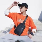 後背包防水胸包 潮流新款韓版男包 牛津帆布胸包側背包后背包潮流小挎
