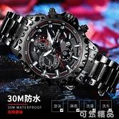 男士手錶時尚潮流機械高中學生運動防水新款瑞士男表 可然精品