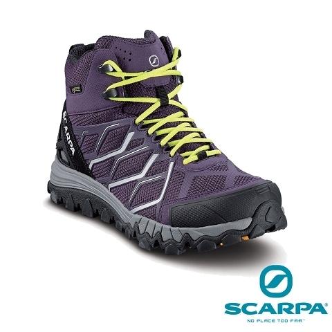 義大利【SCARPA】NITRO HIKE GTX WMN 女性中筒 GTX 防水健行鞋、登山鞋