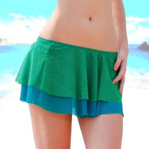外搭式襯裙比基尼穿搭必備款-綠-波曼妮亞