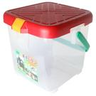 【台灣製 月光寶盒RV多功能桶 紅  】P888R/可承重/置物桶/洗車桶/收納桶/萬用桶