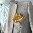 直插式男士口袋巾禮服方巾胸巾