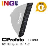 Profoto OCF Softgrid 50° 1x3' 蜂巢 30x90cm 長方罩用 101218 佑晟公司貨