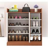 鞋櫃鞋架 家用放門口簡約現代經濟型木質簡易進門收納玄關櫃仿實木鞋架