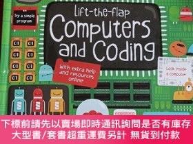 二手書博民逛書店Lift-the-Flap罕見Computers and CodingY335486 Rosie Dickin