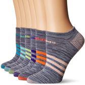 Adidas 女阿迪達斯無外示運動襪六雙包(灰色)