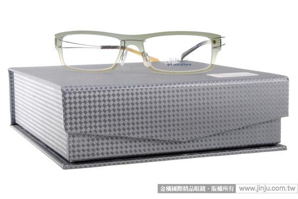 SYNERGY 光學眼鏡 SY3610 C122 (漸層綠) NXT 防彈材質 極簡結構 平光鏡框 # 金橘眼鏡