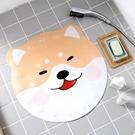 防滑墊 防滑垫ins地墊浴室卡通柴柴犬型可愛潮 牌衛生間淋浴腳墊洗澡墊子