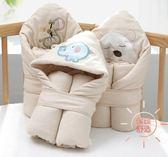 新生兒包被純棉嬰兒抱被夏季抱毯春秋四季被子襁褓包初生寶寶兩用 快速出貨