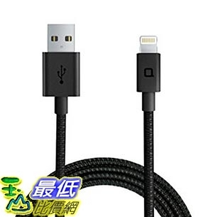 [美國直購] nonda LC33BKRN USB線 充電線 傳輸線 ZUS Super Duty Lightning Cable線 [4ft/1.2m, 180-degree]