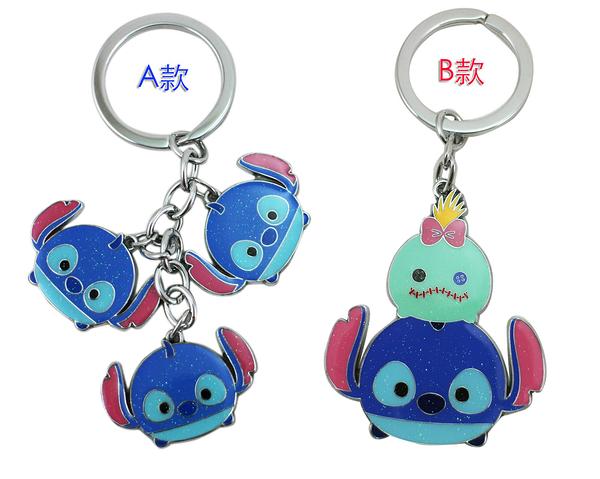 【卡漫城】 史迪奇 鑰匙圈 亮粉 二款選一 ㊣版 造型 Stitch  醜ㄚ頭 星際寶貝 吊飾 扣環 掛飾 掛環