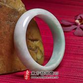淺綠色A貨翡翠手鐲(些微透光,圓鐲19)WG013。產地嚴選翡翠,東方翡翠寶石。附A貨翡翠雙證書