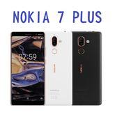 NOKIA 7 PLUS 64G 4G+3G雙卡雙待 蔡司認證鏡頭 免運費6期0利率 贈高透光防刮保護貼 空機