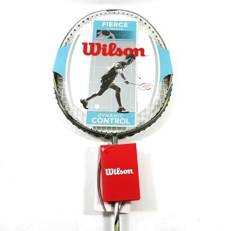 [陽光樂活=]Wilson威爾森 Fierce 100 羽球拍(穿線)附袋-WRT8539002