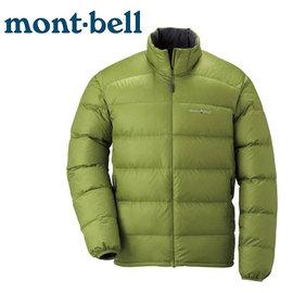 丹大戶外 日本【mont-bell】Light Alpine 800FP 男款羽絨外套/綠茶色 1101428