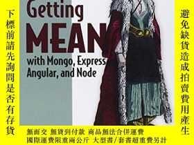 二手書博民逛書店Getting罕見Mean With Mongo, Express, Angular, And NodeY25
