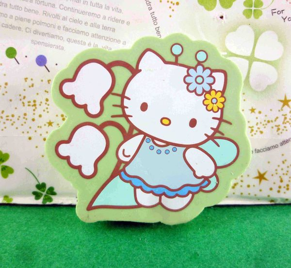 【震撼精品百貨】Hello Kitty 凱蒂貓~造型橡皮擦-紅和風