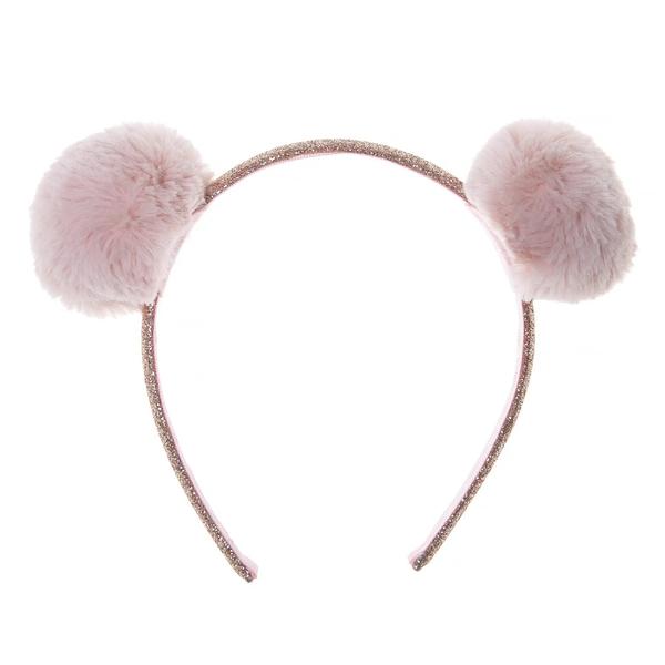 英國 Rockahula Kids 髮箍 - 蓬蓬熊耳朵
